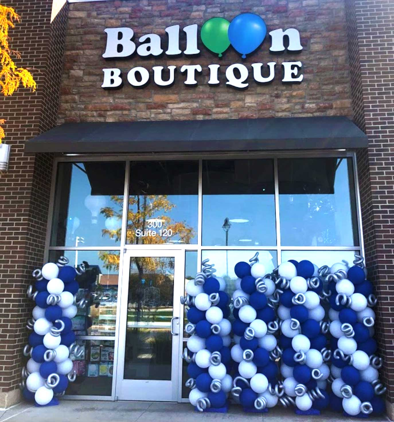 Store Front Balloon Boutique