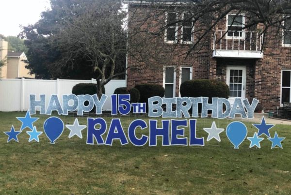 Balloon Boutique Yard Signs